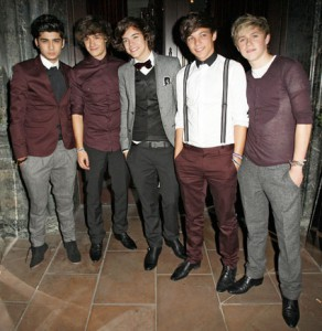 Luce el estilo de ONE DIRECTION