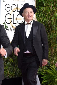 Bill Murray en los Globos de oro 2015