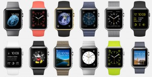 Diferentes modelos de Apple Watch