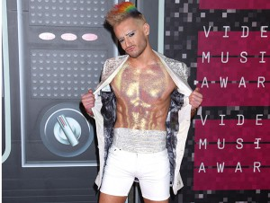 frankie grande en los MTV Video Music Awards