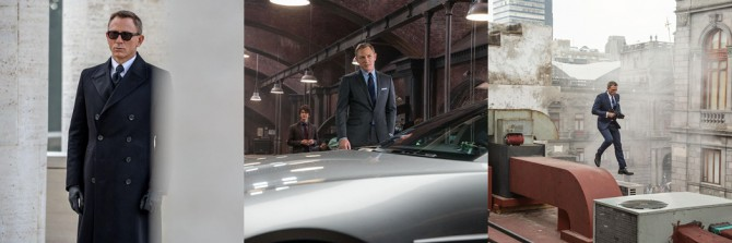 James Bond en escena de Spectre vestido de Tom Ford