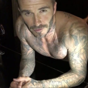 David Beckham se apunta al 22 push-up Challenge