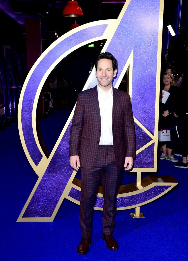 Look Chris Kemsworth y Paul Rudd en la Premiere de Vengadores: Endgame
